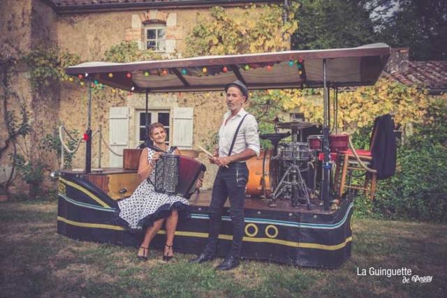 Peggy et Hugues - Musiciens de la Guinguette